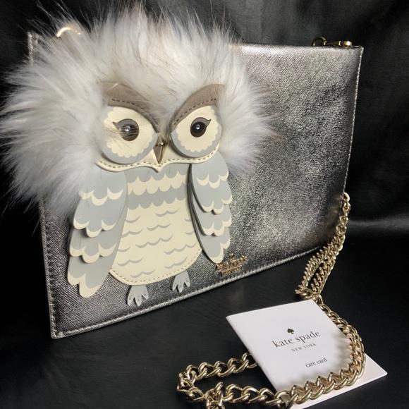 45831a64122b9 Kate Spade New York Owl Cross-Body Bag NWT